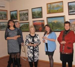 Открытие выставки Шулиной 2