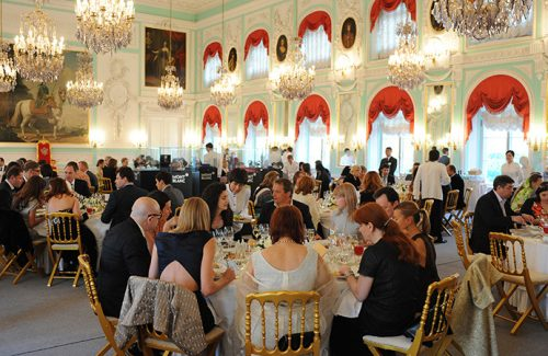 21.06.2008, Saint Petersburg, Northwestern Federal District, Russia - A gala dinner held as a part of the Montblanc White Nights Festival at the Peterhof Palace. 00K080621D030CAROE.JPG - N O T for S A L E in G E R M A N Y / G E R M A N Y OUT [MODEL RELEASE: NO, PROPERTY RELEASE: NO (c) caro photo agency / Andree Kaiser, http://www.carofoto.pl, info@carofoto.pl - In case of using the picture for non-journalistic purposes, please contact the agency - the picture is subject to royalty!]