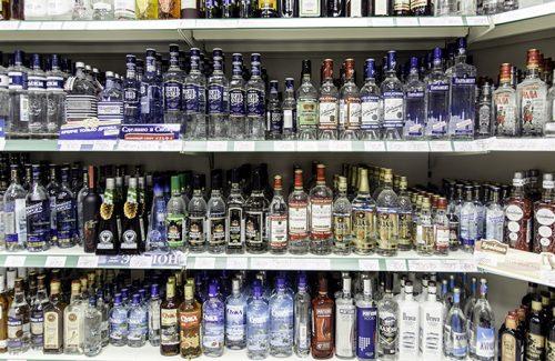 Range in liquor store