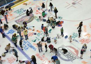 Новокузнечан приглашают порисовать на льду