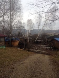 оползень 225x300 Страшный оползень с горной породой уничтожил озеро в Новокузнецком районе