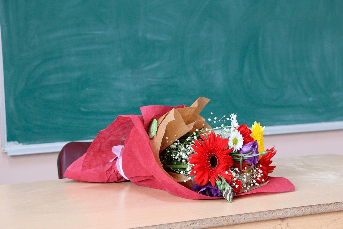 открытка в букет с днем учителя вид помидоров пригоден